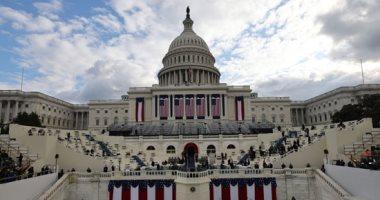 """بايدن ونائبته يصلان إلى مبنى الكونجرس لحضور حفل تنصيب الرئيس """"46"""""""