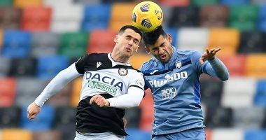 صورة أودينيزي يفرض التعادل على أتالانتا في الدوري الإيطالي.. فيديو