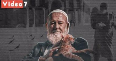 """رحيل """"أبو هريرات الأقصى"""".. مُطعم القطط والطيور.. فيديو"""