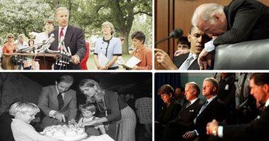"""بايدن رئيساً للولايات المتحدة.. رحلة """"السيناتور الأصغر"""" و""""الرئيس الأكبر"""" × 20 صورة"""