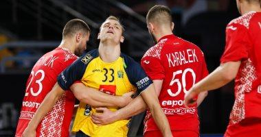 مجموعة مصر تشتعل.. السويد تتعادل مع سلوفنيا 28-28 فى مونديال اليد