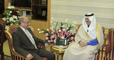 السعودية نيوز |                                              سفير السعودية بالقاهرة يستعيد ذكريات لقائه بوزير العدل.. ويعلق: قبل غزوة كورونا