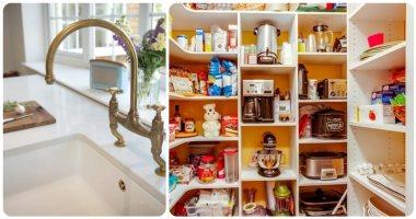أبرز تريندات ديكور المطبخ فى2021.. غرفة لتخزين المعلبات وأحواض كبيرة