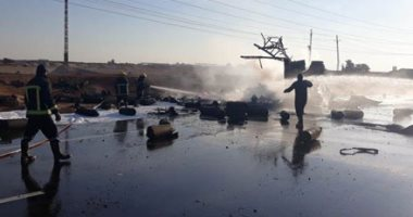 انفجار  اسطوانات الغاز