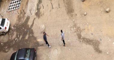 السياس يحولون شارع بالجيزة إلى جراش.. والسكان تستنجد بالمحافظة.. صور