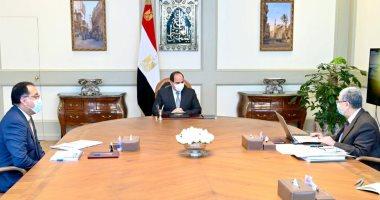 الرئيس يوجه بتطوير البنية الأساسية الكهربائية فى قرى الريف المصرى وتوابعها
