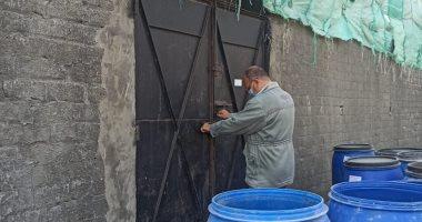 إزالة مبنى مخالف ورصد مخالفات بأحد المصانع واتخاذ الإجراءات القانونية بالإسكندرية