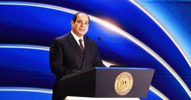 الرئيس السيسي: تحسن كبير لمؤشرات الاقتصاد على الرغم من تداعيات كورونا.. صور