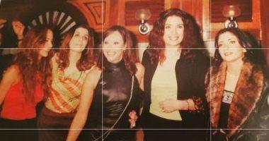 السعودية نيوز |                                              عبير صبري مع غادة عادل ومنى زكي ونيللي كريم في صورة من دولاب الذكريات