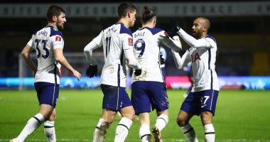 توتنهام يتأهل لملاقاة إيفرتون فى ثمن نهائى كأس إنجلترا برباعية ضد ويكمب