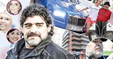 أكبر لغز  في حياة مارادونا: ماذا يوجد فى خزائن دبي ؟