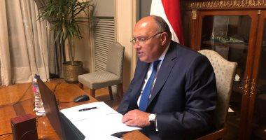 شكرى يؤكد تطلع مصر لمزيد من تعميق علاقات التعاون مع أوكرانيا
