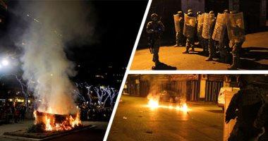 سكاى نيوز: احتجاجات بمدينة طرابلس شمالى لبنان