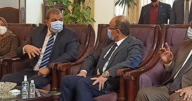 وزير القوى العاملة يحضر مجلس جامعة الزقازيق