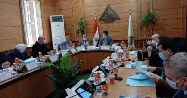 مجلس جامعة بنها يناقش استعدادات امتحانات الفصل الدراسى الأول وإعلان الجداول