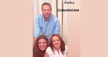 """لمياء حلاوة شقيقة محمد حلاوة لـ ريهام حجاج: """"إنتى نور عيلتنا"""""""