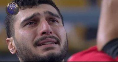 مشهد بكاء يحيى الدرع تريند على تويتر.. ومغردون: لا تبكى يا بطل