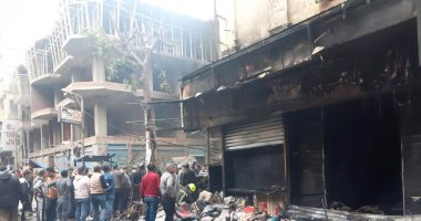 إحالة المتهم بحرق 14 محلا فى سوق التوفيقية إلى الجنايات
