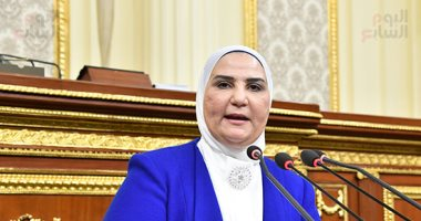 وزيرة التضامن للبرلمان: 3.017 مليون مستفيد من خدمات الهلال الأحمر المصرى