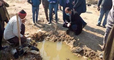 جامعة حلوان تشكل لجنة لحل مشاكل المياه الجوفية بعرب غنيم