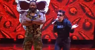 باد بانى يحقق حلمه ويبهر الجماهير باستعراضه فى WWE's Royal Rumble.. فيديو