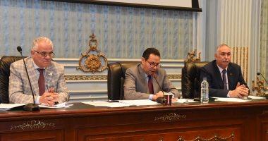 """رئيس """"زراعة النواب"""" يطالب وزير الأوقاف بخفض إيجار الأراضى التابعة للوزارة.. صور"""