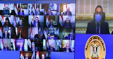 بدء اجتماع مجلس الوزراء الأسبوعى عبر الفيديو كونفرانس
