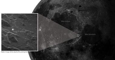 التقاط صورة مفصلة للقمر يمكنها تحديد موقع هبوط أبولو 15