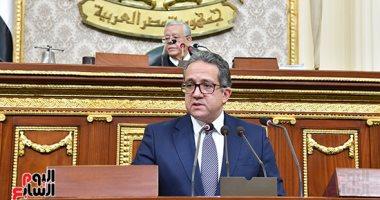 وزير السياحة للنواب: الإعلام الأجنبى أوصى بمصر كأفضل الوجهات السياحية بـ 2021
