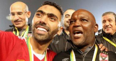 السعودية نيوز |                                              موسيماني يوجه رسالة لـ حسين الشحات: أنت والشباب مثلتم مصر وأفريقيا بشكل جيد للغاية