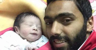السعودية نيوز |                                              حسين الشحات يحتفل بعيد ميلاد ابنه آسر × 10 صور تذكارية
