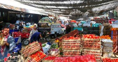 شعبة الخضروات والفاكهة تكشف تأثير نهاية الموسم الشتوى على الأسعار بالسوق