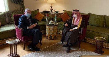 السعودية نيوز |                                              وزير الخارجية الفلسطينى يبحث مع نظيره السعودى أخر المستجدات الفلسطينية