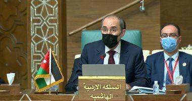 وزير الخارجية الأردنى يؤكد أهمية وقف العدوان على غزة