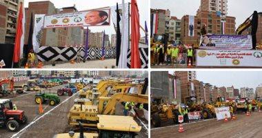 المقاولات المصرية: استكمال تنفيذ مشروعات خدمية بنصف مليار جنيه فى سوهاج