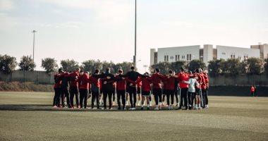 استعدادات الأهلى الأخيرة قبل مباراة برونزية مونديال الأندية.. صور