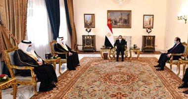 السعودية نيوز |                                              الرئيس السيسى يؤكد الخصوصية الاستراتيجية للعلاقات المصرية - السعودية