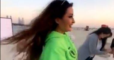 السعودية نيوز |                                              لطيفة تحتفل بعيد ميلادها بصحبة صديقاتها في الفلانتين.. فيديو