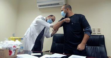 تطعيم الأطقم الطبية - أرشيفية