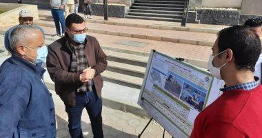 نائب وزير الإسكان يضع حجر أساس مشروع مستشفى طوارئ 6 أكتوبر