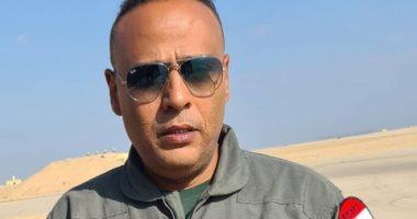 محمود عبد المغنى بأول صورة من كواليس السرب: فخور بالمشاركة فى الفيلم