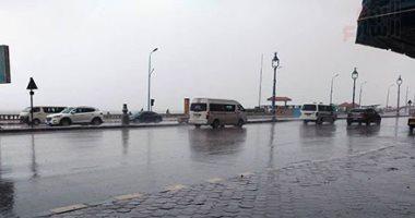 انخفاض درجات الحرارة وأمطار تمتد للقاهرة الكبرى والصغرى بالعاصمة 10