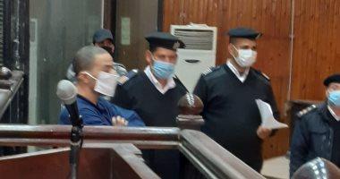 أولى جلسات محاكمة سفاح الجيزة اليوم فى قضية قتل شقيقة زوجته