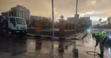 المرور: تجهيز غرف عمليات تحسبا لهطول أمطار على الطرق السريعة