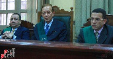 نظر جلسة يوسف بطرس غالي فى قضية فساد الجمارك بعد طلب رد المحكمة