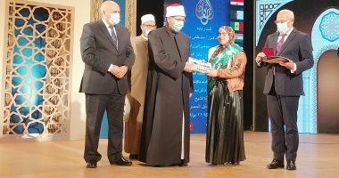 وزير الأوقاف يسلم جوائز للفائزين بمسابقة بورسعيد الدولية للقرآن والابتهال.. صور