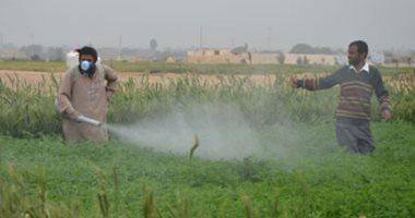 الزراعة: زيادة عدد مفتشى الرقابة لضبط المبيدات غير المسجلة
