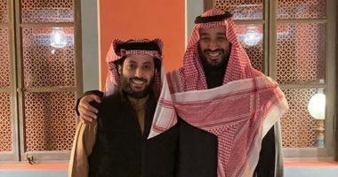 السعودية نيوز |                                              تركى آل الشيخ ينشر صورة تجمعه بولى العهد الأمير محمد بن سلمان.. ويعلق: حفظك الله