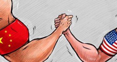كاريكاتير صحيفة إماراتية: الاقتصاد محور التحدي والمنافسة بين بكين وواشنطن