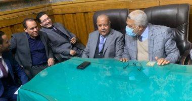 مجلس نقابة محامى جنوب القاهرة يعقد أول اجتماعه برئاسة النقيب حسن أمين